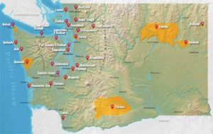 Washington Tribes Map