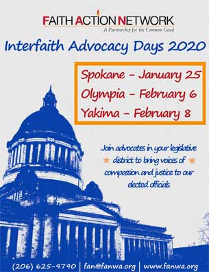 Interfaith Advocacy Days 2020